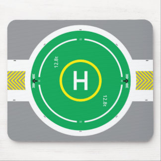 HeliDECK Green Mouse Pad