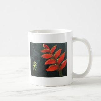 Helikonia of the Sea 2 sided Classic White Coffee Mug