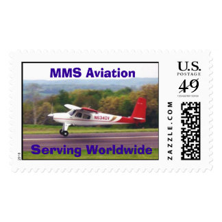 Helio, MMS Aviation Serving Worldwide - Customized Postage Stamp