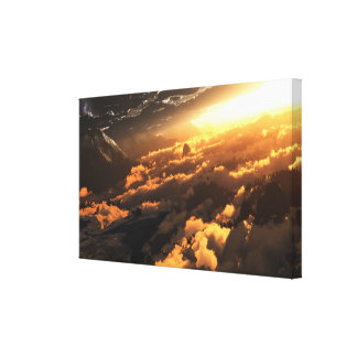 Heliocentric (Day) Canvas Print