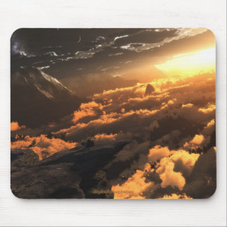 Heliocentric Day Mousepad