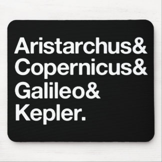 Heliocentric Mousepads
