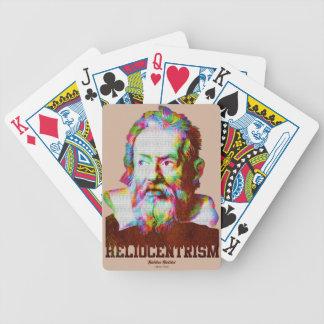 Heliocentrism Bicycle Playing Cards