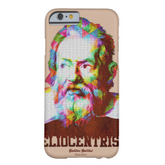 Heliocentrism, galileo galilei,vintage graphics barely there iPhone 6 case
