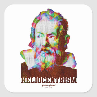 Heliocentrism Square Sticker