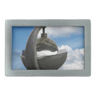 heliógrafo hebilla de cinturon rectangular
