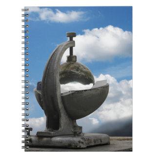 heliógrafo libreta espiral