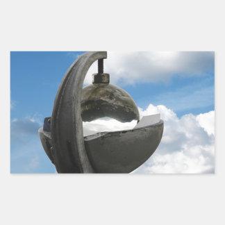 heliógrafo rectangular pegatinas