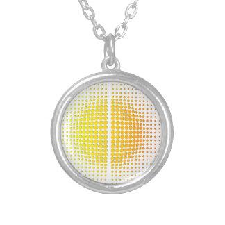 Helios Round Pendant Necklace