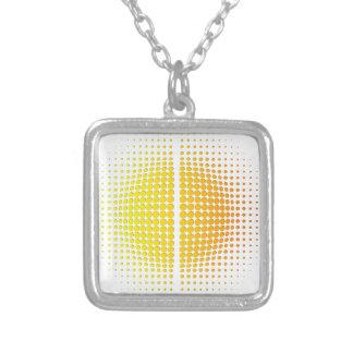 Helios Square Pendant Necklace