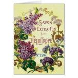 Heliotrope Savon Greeting Card
