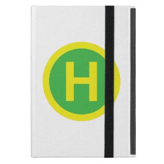 Helipad Sign Case For iPad Mini