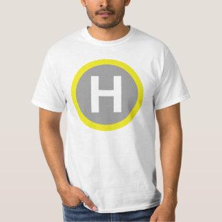 Helipad Sign T Shirt