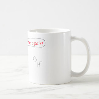 Helium and Hydrogen ion - Grow a pair! Coffee Mug