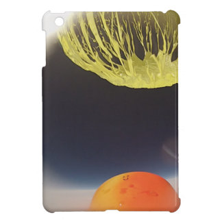 Helium balloon popping on the edge of space iPad mini cover