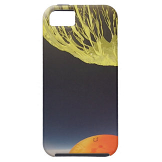 Helium balloon popping on the edge of space iPhone SE/5/5s case
