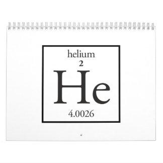 Helium Wall Calendars