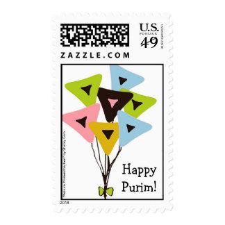 """""""Helium Hamantaschen"""" Purim Postage"""