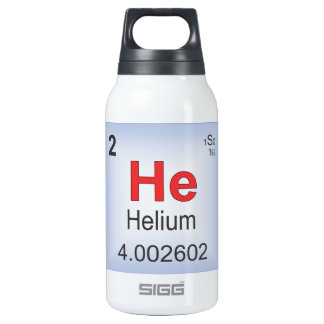 Helium Individual Element of the Periodic Table Insulated Water Bottle