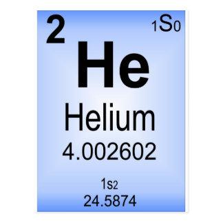 Helium Postcard