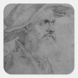 Helius Eobanus Hessus, 1526 Square Sticker
