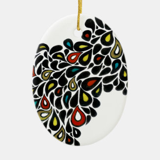 Helix Customizable Oval Ornament