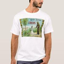 Helix Farms Lemon LabelSan Diego, CA T-Shirt