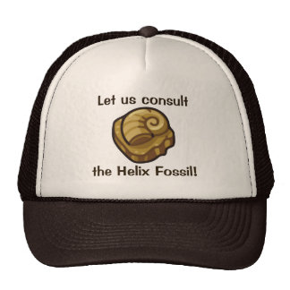 Helix Fossil Mesh Hat