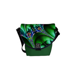 Helix green created by Tutti Messenger Bags