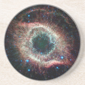 Helix in Infrared Drink Coaster