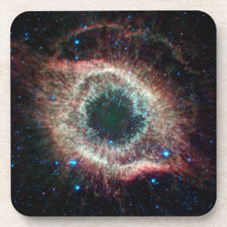 Helix in Infrared Beverage Coasters