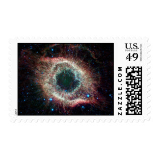 Helix in Infrared Stamp