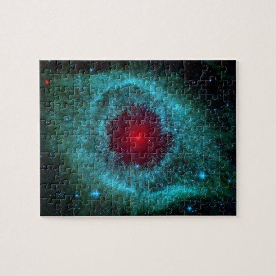 Helix Nebula, Beautiful Stars in the Galaxy Jigsaw Puzzle ...