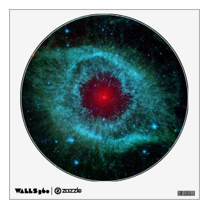 Helix Nebula, Beautiful Stars in the Galaxy Wall Decal