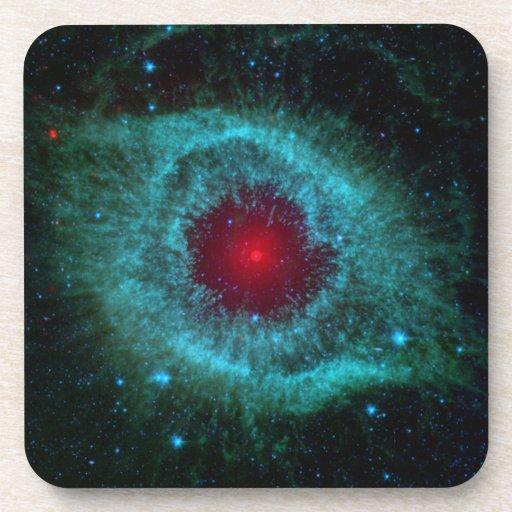Helix Nebula Beverage Coaster