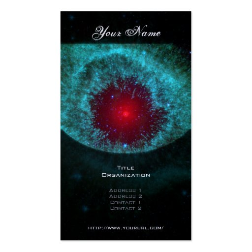 Helix Nebula Double-Sided Standard Business Cards (Pack Of 100)