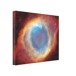 Helix Nebula by Hubble Canvas Print