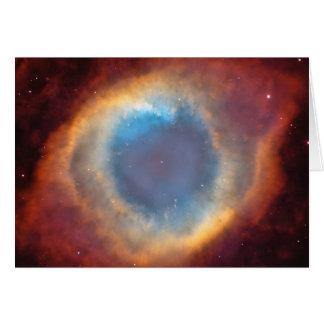 Helix Nebula by Hubble Card