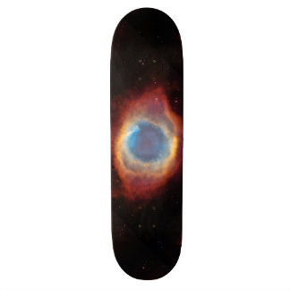 Helix Nebula by Hubble Skateboard Deck