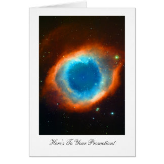 Helix Nebula - Congratulations on Your Promotion Card