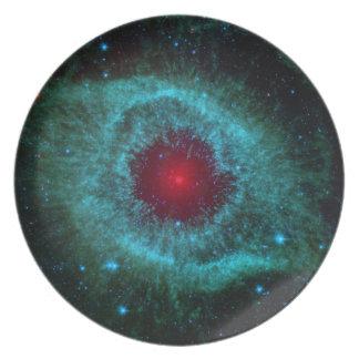 Helix Nebula Dinner Plates