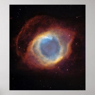 Helix Nebula Extra Large Poster Print