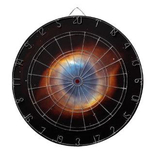 "Helix Nebula ""Eye"" Dart Board"