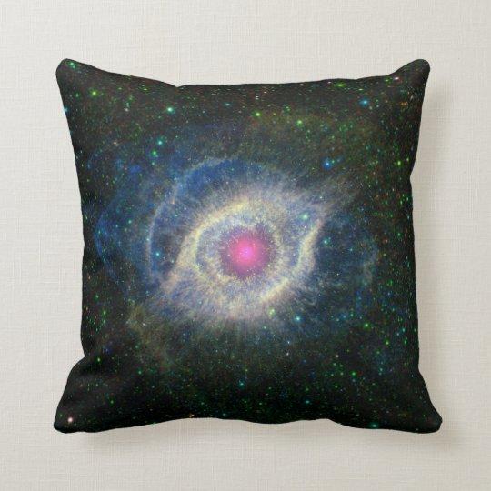Helix Nebula Eye in Space Cushion