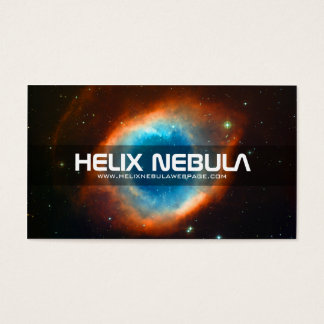 Helix Nebula Eye Of God Business Card