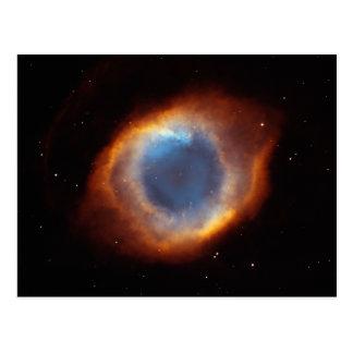 """Helix Nebula """"Eye of God"""" Hubble Telescope Postcard"""