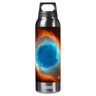 Helix Nebula, Galaxies and Stars Thermos Bottle