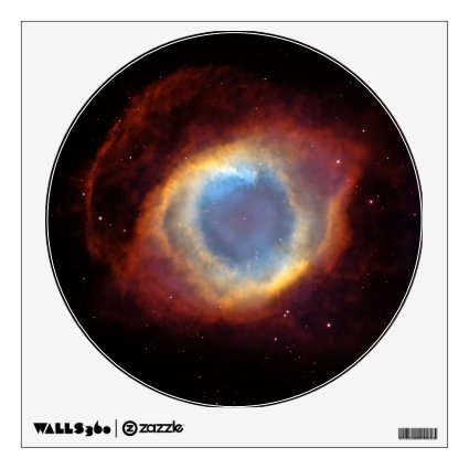 Helix Nebula Hubble Room Decals