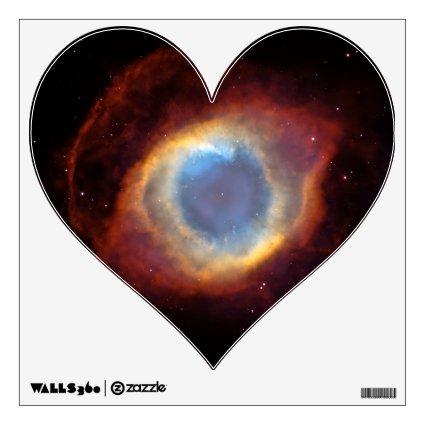 Helix Nebula Hubble Room Sticker
