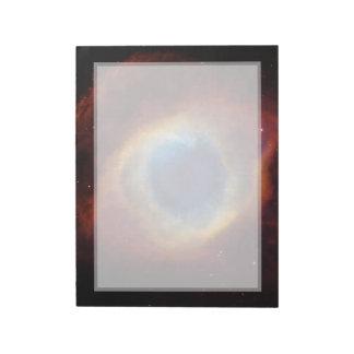 Helix Nebula Hubble Telescope Note Pads